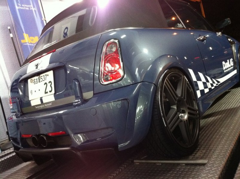 DuelL AG Krone Edition R53 Rear Bumper Ver1.2