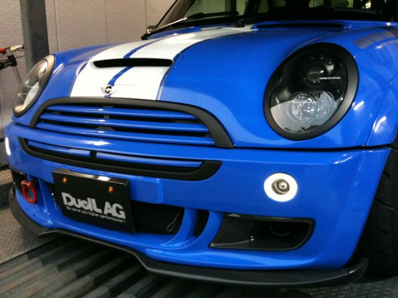 DuelL AG Krone Edition R53 Extention Spoiler Ver1.1/1.2
