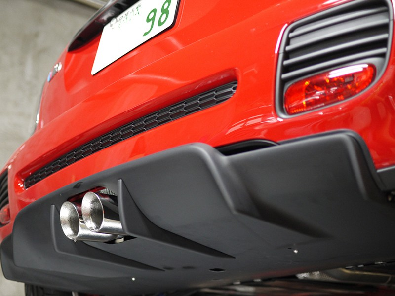 DuelL AG Krone Edition Rear Diffuser